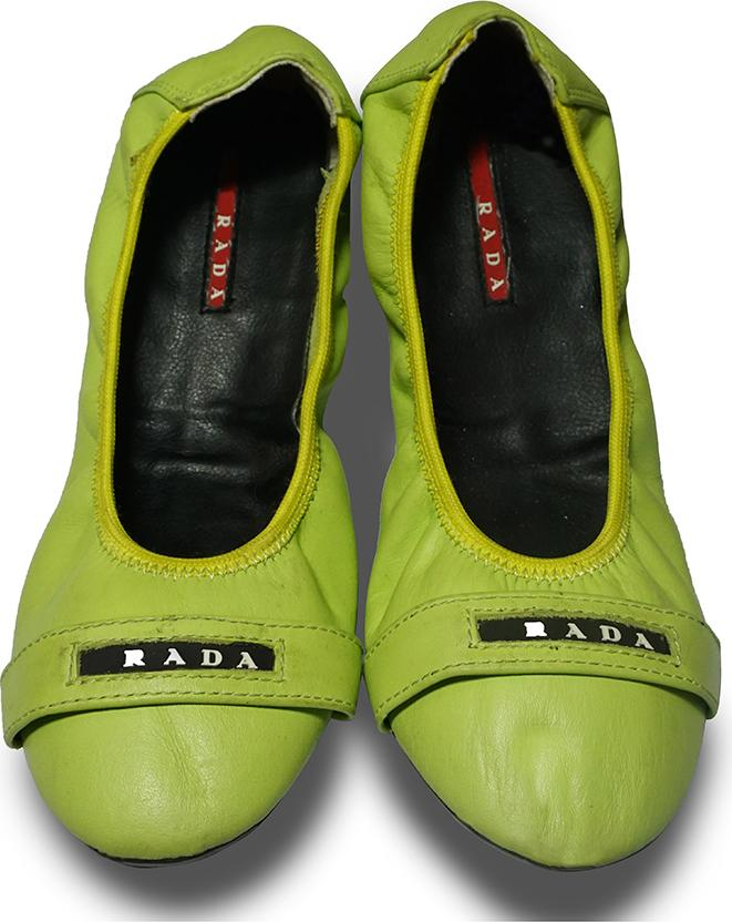 Giày búp bê nữ da B03