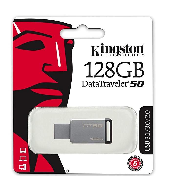 USB Kingston DataTraveler DT50 128GB - USB 3.1