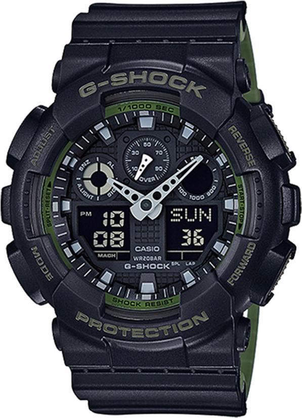 Đông hồ Casio G-Shock Nam dây nhựa GA-100L-1ADR