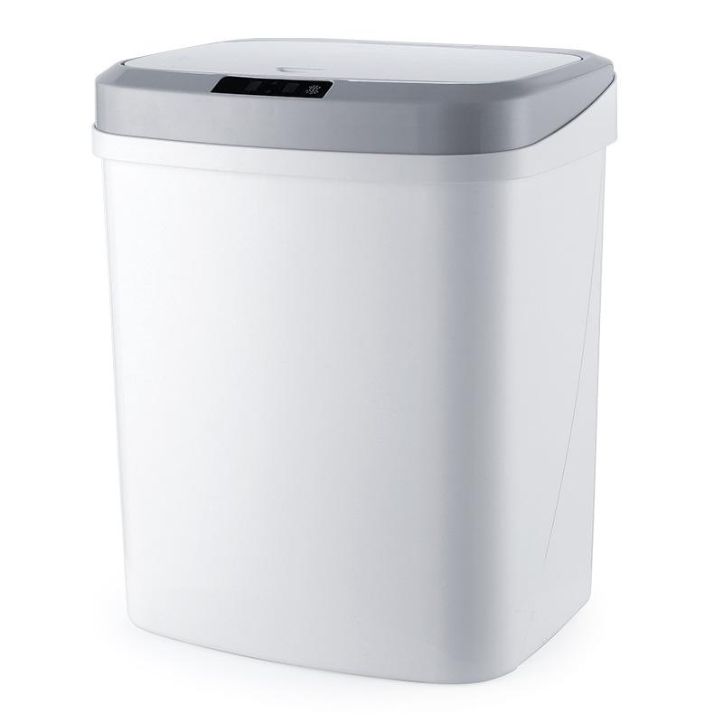 Thùng rác cảm ứng thông minh bằng nhựa bốn màu