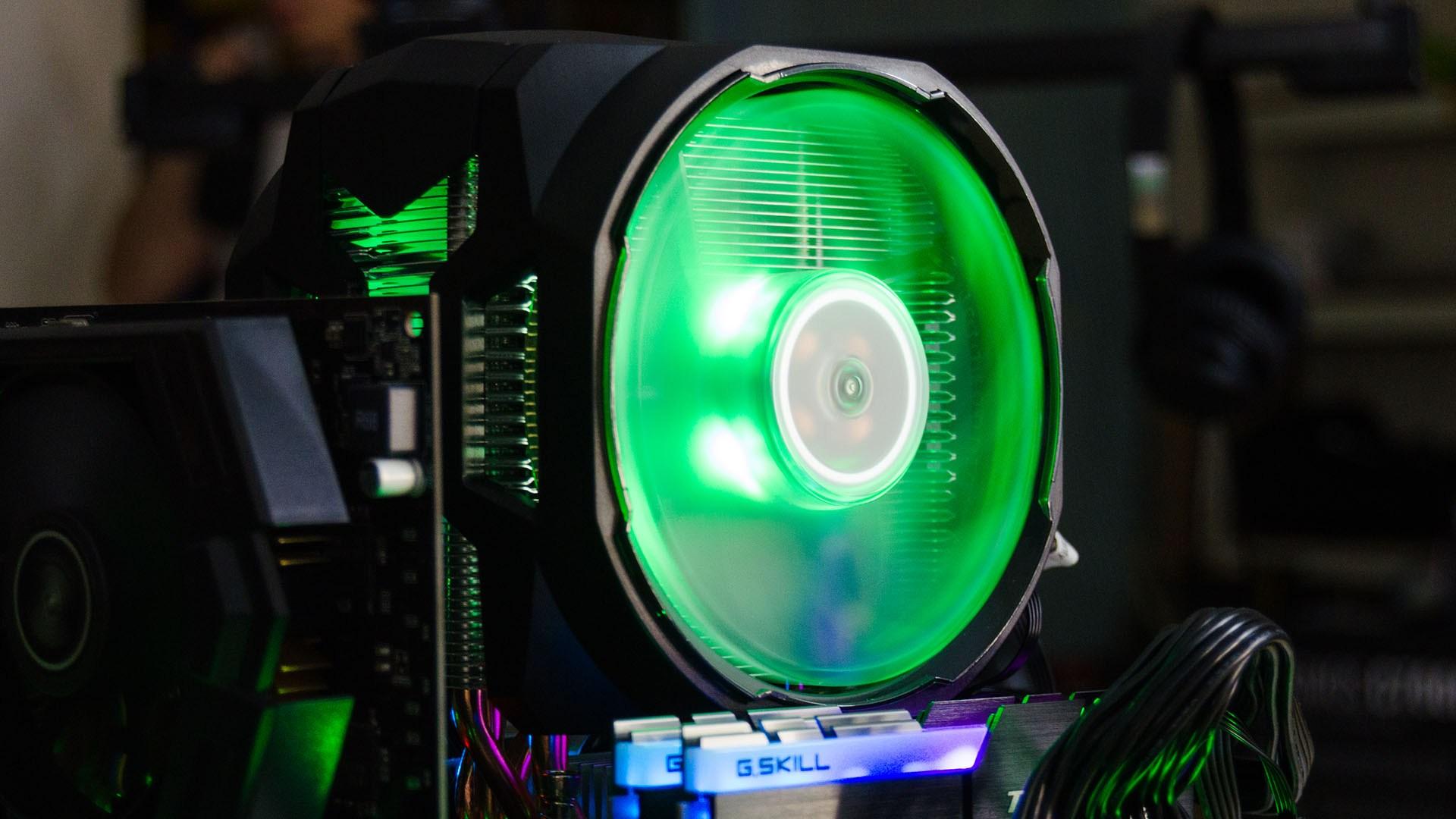 Fan CPU Cooler Master MasterAir 610P(fan RGB) - Hàng Chính Hãng