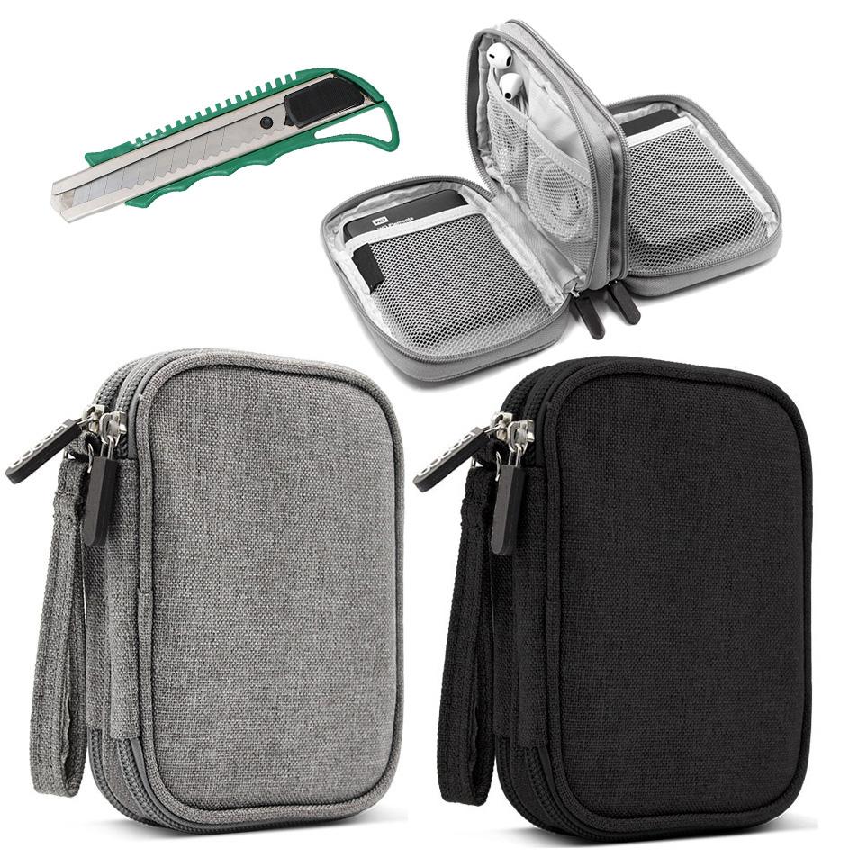 Túi đựng phụ kiện BN-C003 - tặng dao rọc giấy loại to
