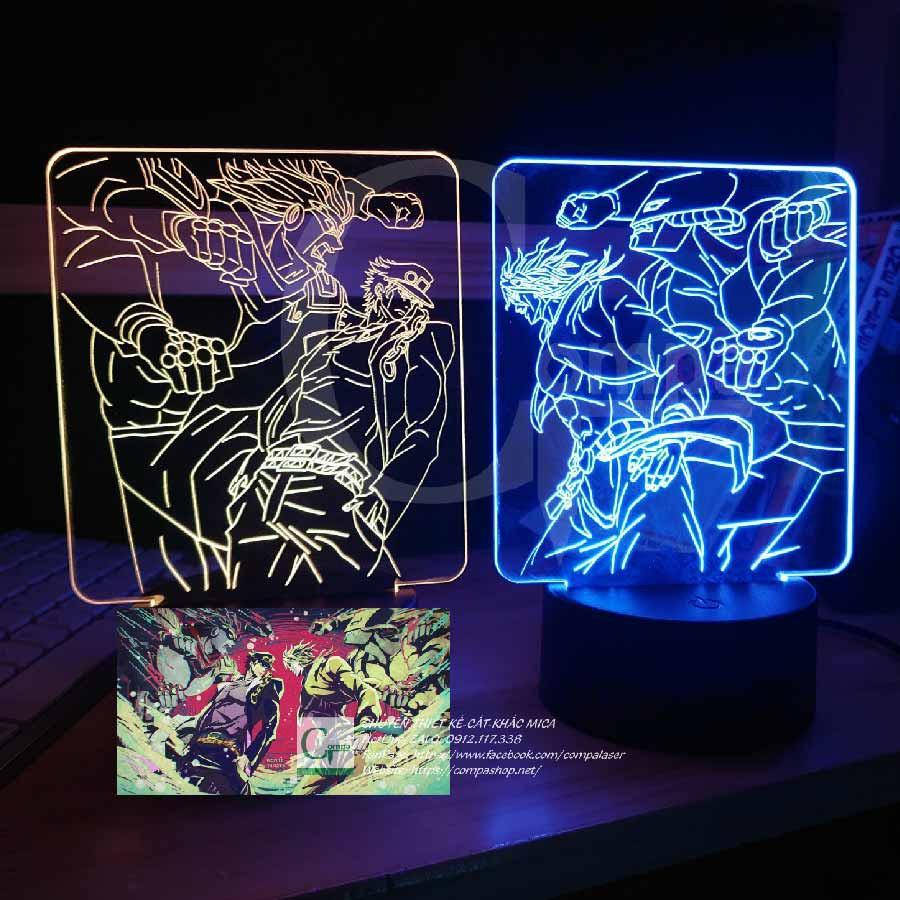 Đèn Ngủ Jojo Bizarre Adventure Jojo x Dio Type 02 Combo 2 đèn ngủ