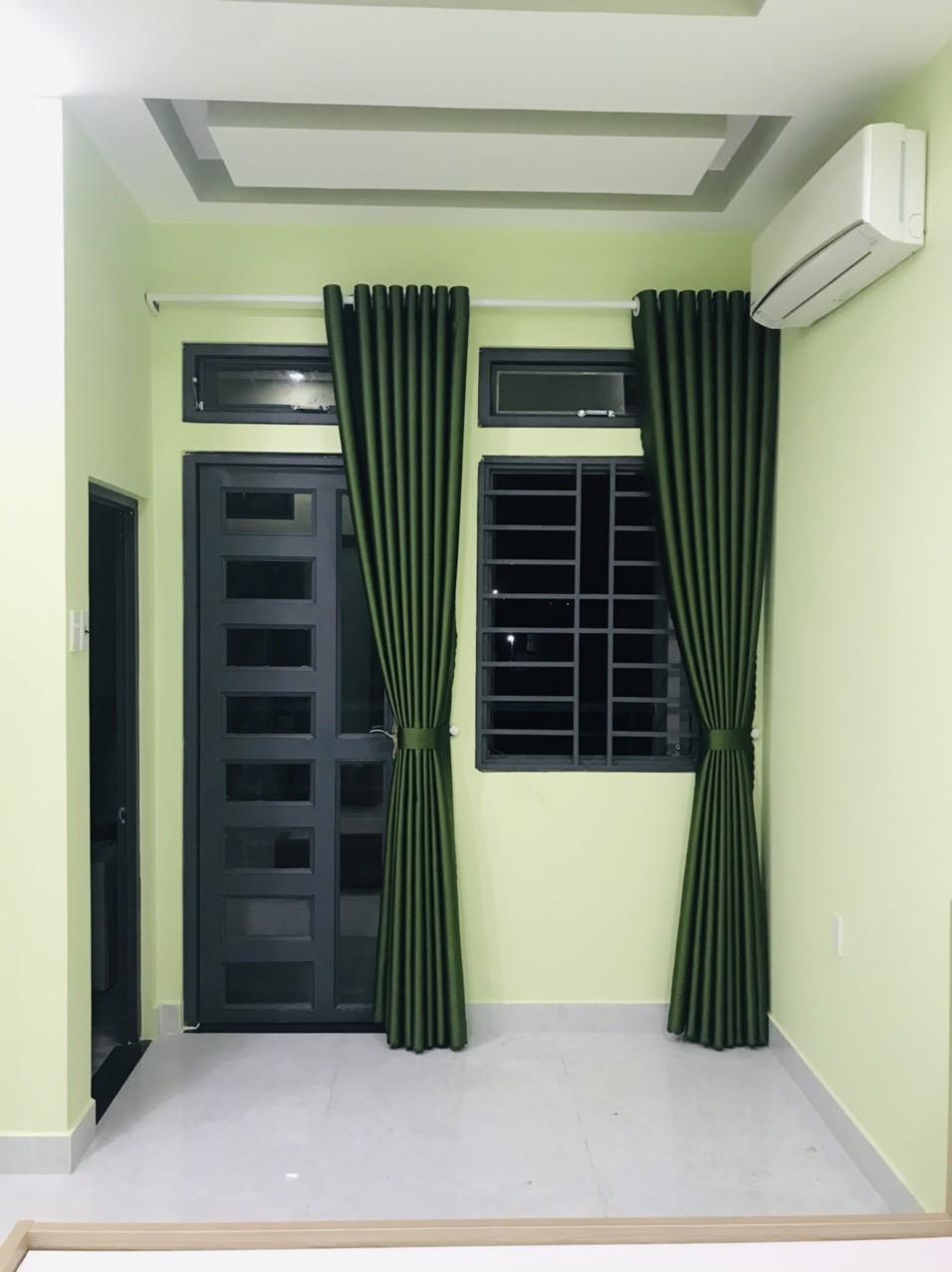 Rèm cửa chống nắng - Màu Xám Tím Đậm  Sọc Thẳng