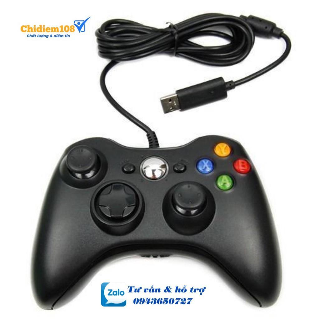 TAY GAME ĐƠN RUNG USB 360