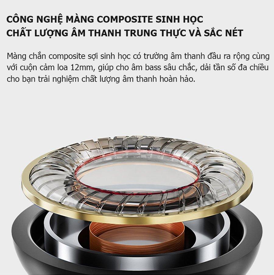 Tai nghe Jack 3.5mm - Âm thanh Hifi tương thích các dòng Oppo/ Samsung/ Vivo/ Xiaomi..