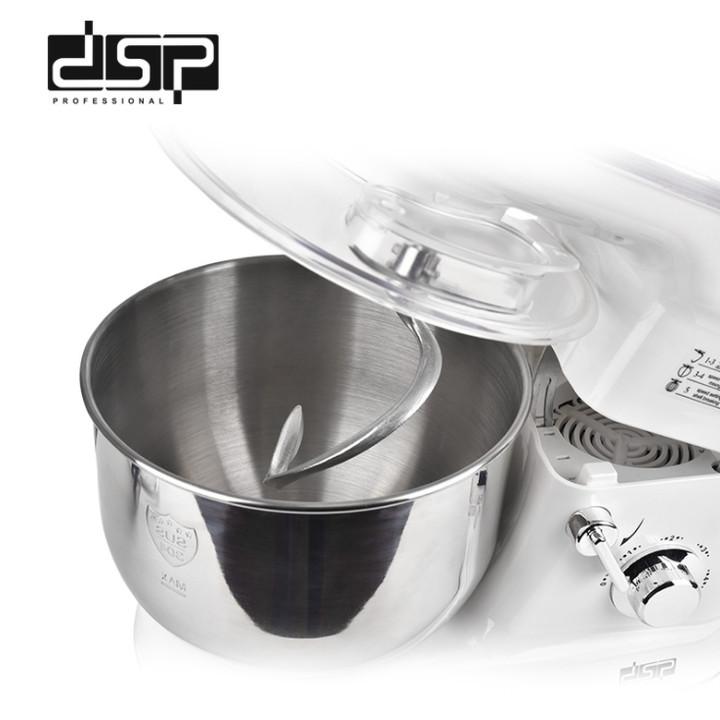 Máy trộn bột và đánh trứng dung tích 5 lít cao cấp DSP KM3007 - Công suất: 1200W - Máy có 5 tốc độ - Hàng Nhập Khẩu
