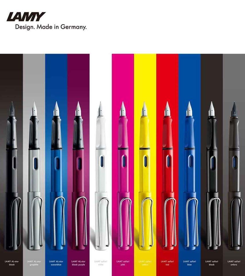Bút LAMY Safari Ballpoint pen-4000884 Shiny Red