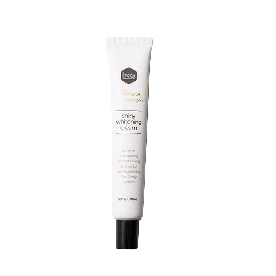 Kem Face Dưỡng Trắng Da Lisse Lisse Real Hydrogen Shiny Whitening Cream Tuýp 50ml