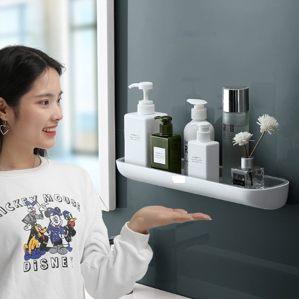 Kệ để đồ nhà tắm hay bếp và nhà vệ sinh E1923B không có móc treo