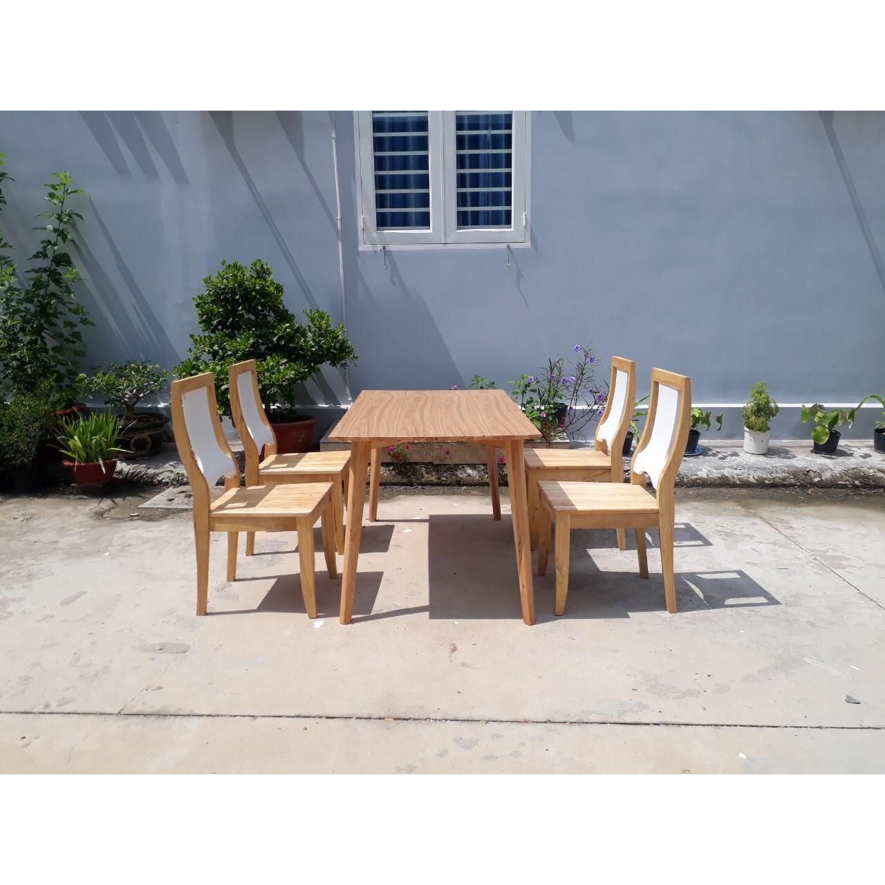 Bộ bàn ăn 4 ghế PL05