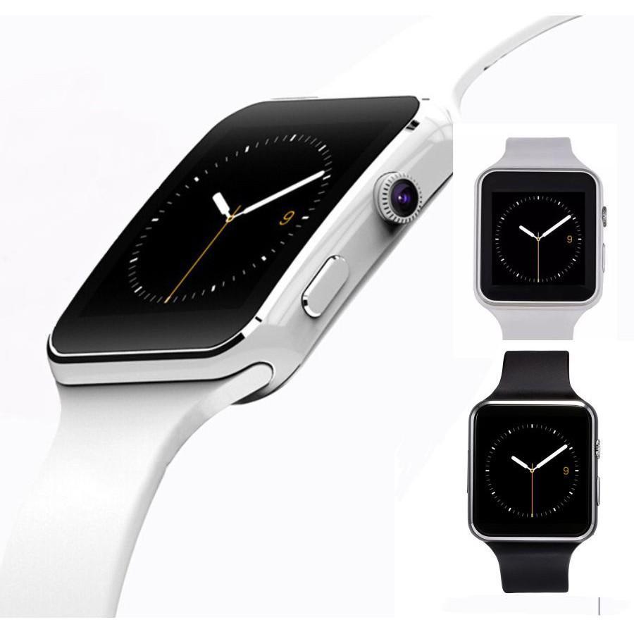 Đồng Hồ Thông Minh Smart Watch X6 Màn Hình Cong cao cấp - mẫu mới hot nhất hiện nay + tặng kèm vòng tay tỳ hưu