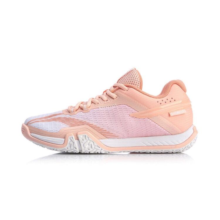 Giày cầu lông nữ Lining AYTQ022-2 hàng chính hãng - Tặng kèm tất Bendu chính hãng