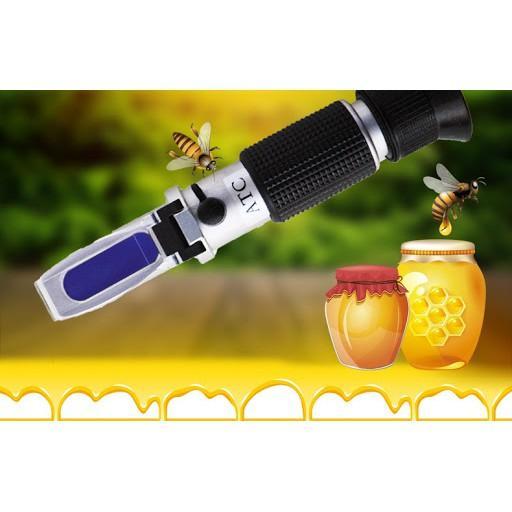 Thiết bị đo độ ngọt của trái cây,mật ong Brix 0-32%