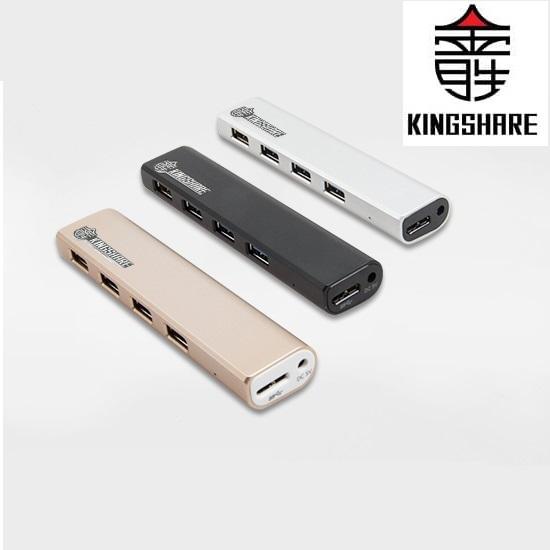 Hub chia 4 cổng USB 3.0 Kingshare (Màu Ngẫu Nhiên) - Hàng nhập khẩu