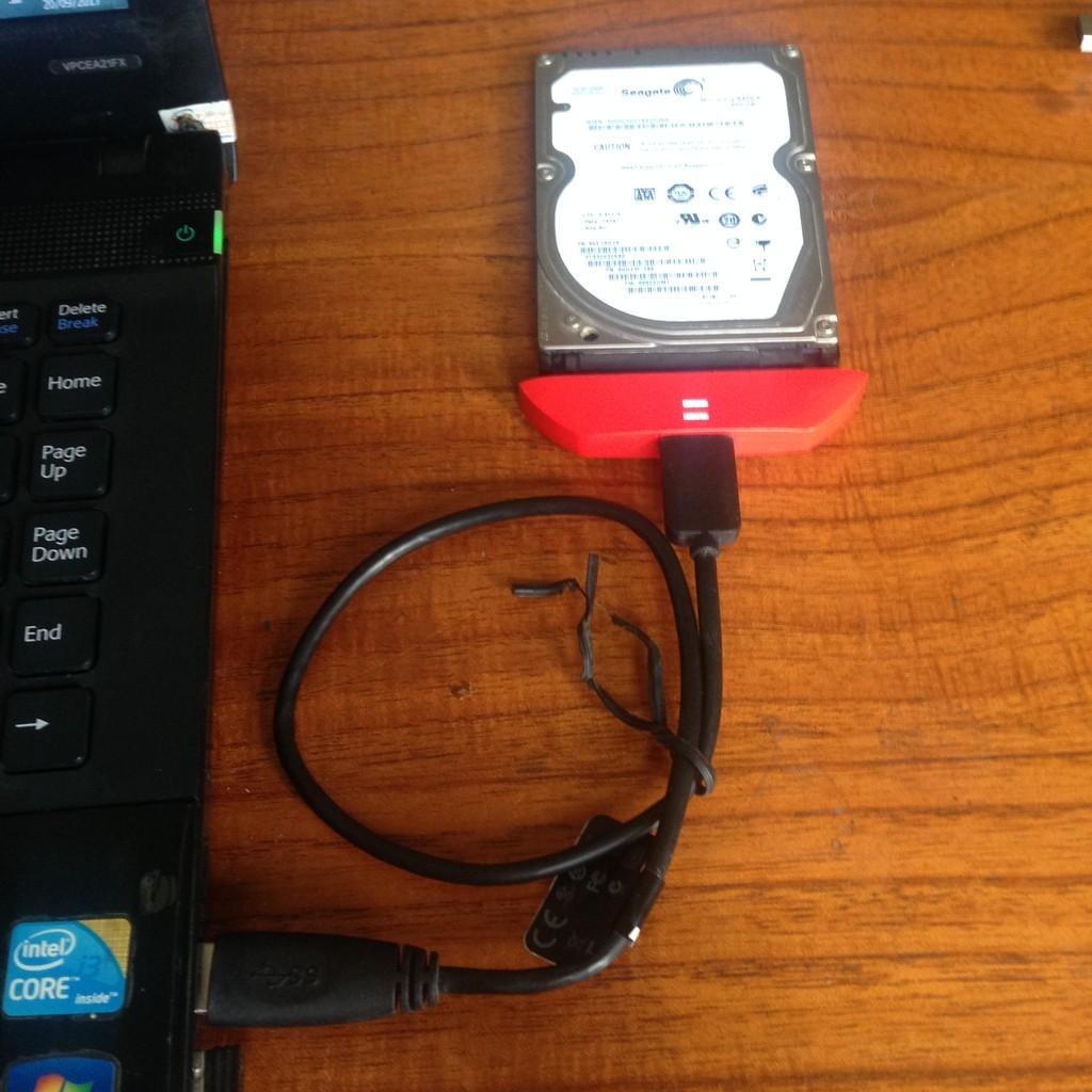Dock dữ liệu chuyển ổ cứng Laptop_Chuẩn USB3.0