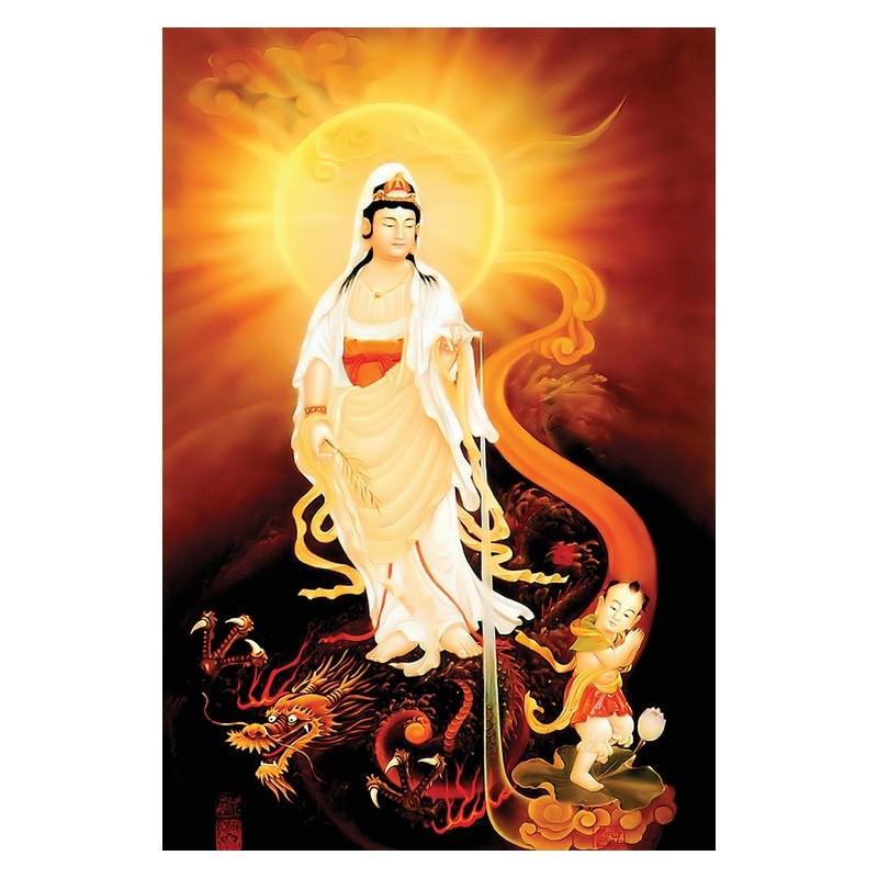 Tranh Phật Giáo Nam Mô Quan Thế Âm Bồ Tát 2210