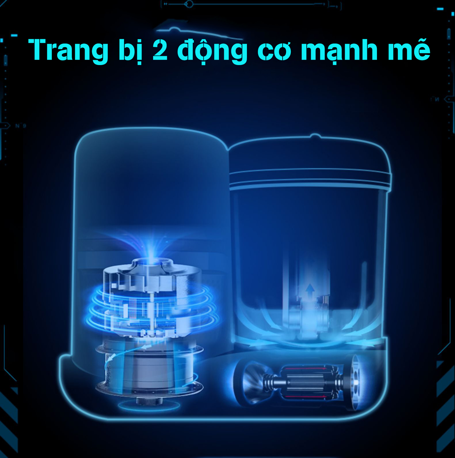 Máy xay hấp nghiền thức ăn đa năng 7in1 Motherlove tặng kèm máy xay đa nang nhỏ (xanh) - Hàng chính hãng