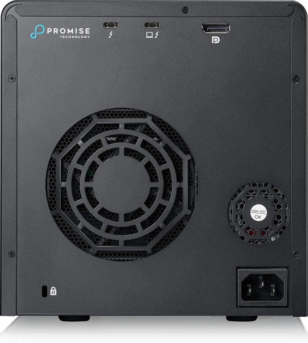 Thiết bị lưu trữ Promise Pegasus3 R4 16TB  thunderbolt 3 Raid (4 x 4tb) – Hàng chính hãng