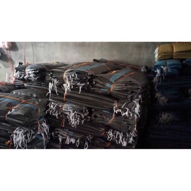 Combo 10 chiếc bao tải đen đóng hàng loại 150 kg