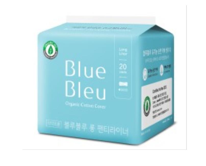 Băng Vệ Sinh Hàng Ngày Blue Bleu Từ Sợi Bông Hữu Cơ Và Tinh Dầu Cây Bách