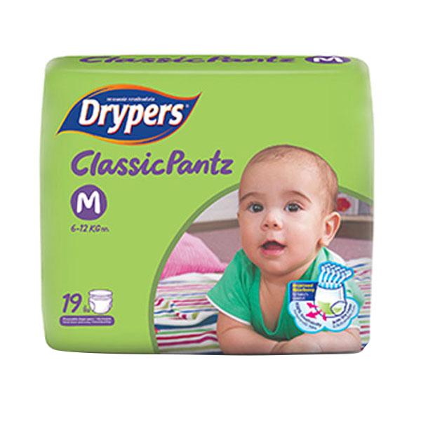 Tã Quần Drypers ClassicPantz M19 19 Miếng