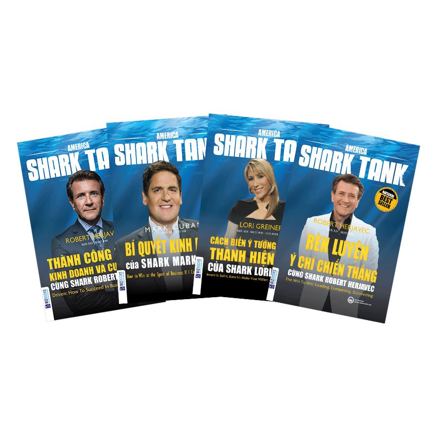 """Combo 3 Cuốn Bí Mật Trong Tiềm Thức Của """"Cá Mập"""" (Tặng Kèm Bí Quyết Kinh Doanh Của Shark Mark Cuban)"""