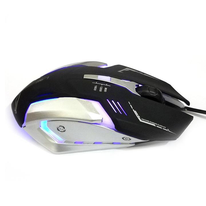 Chuột quang K1 có dây USB LED đổi màu
