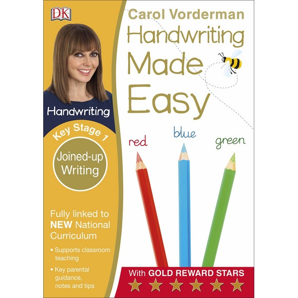 DK Carol Vorderman Handwriting Made Easy Key Stage 1