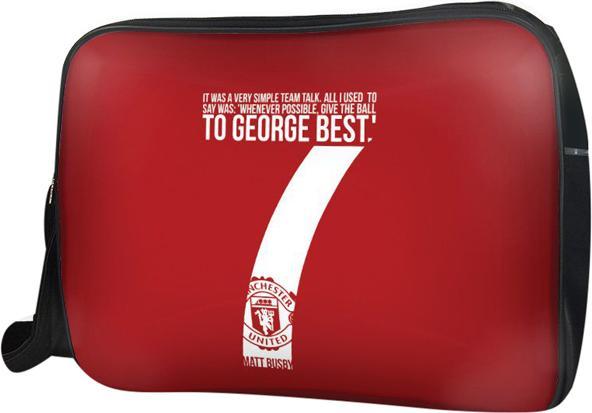 Túi Đeo Chéo Hộp Unisex Manchester United - TCST038 34 x 9 x 25 cm
