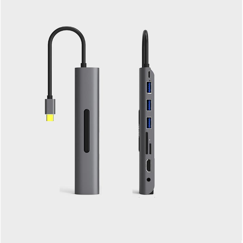 Hub USB type C - 9 in1 - Màu Ngẫu Nhiên
