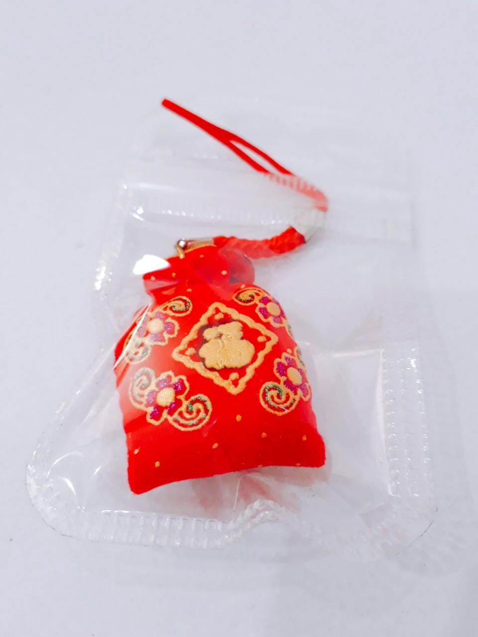 Túi gấm may mắn - lộc đỏ cả năm