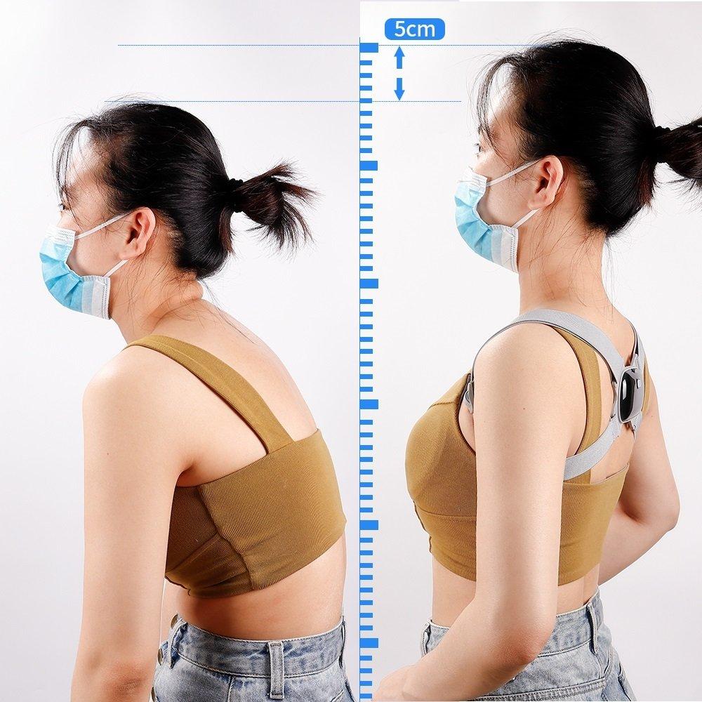 Đai gù lưng trẻ em người lớn giải pháp chống gù hiệu quả tạo tư thế ngồi chuẩn, dùng cho lưng gù cong vẹo cột sống, thoải mái khi đeo, thế hệ mới .