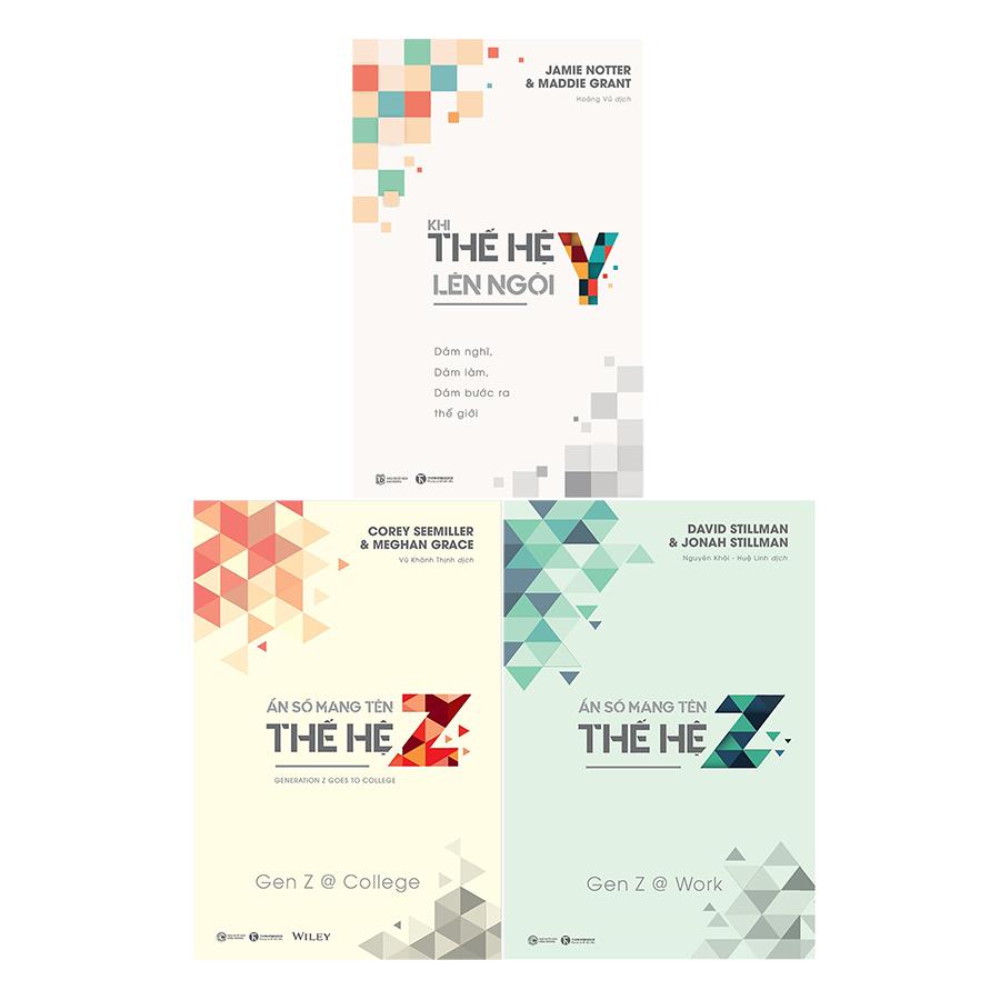 Bộ Ẩn Số Mang Tên Thế Hệ Y-Z (3 Cuốn)