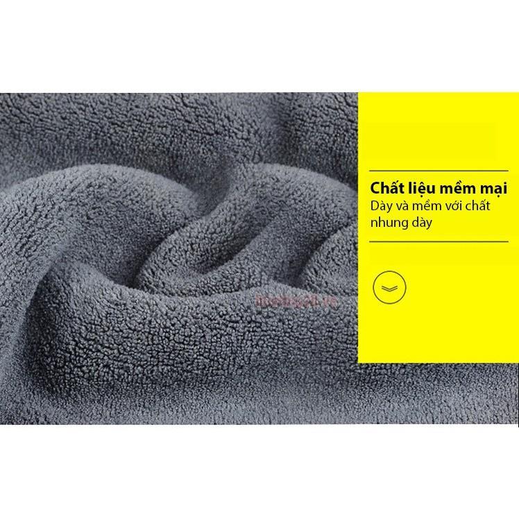 khăn lau xe ô tô đa năng hàng loại 1 siêu thấm hút 2 mặt