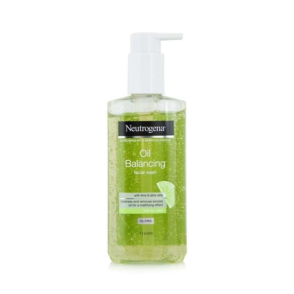 Sữa rửa mặt làm sạch sâu Neutrogena Oil Balancing Facial Wash 200ml (Bill Anh)