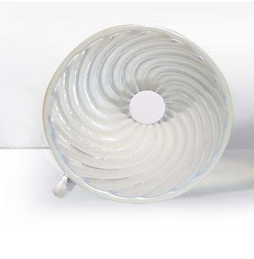 Phễu lọc cà phê V60 sứ cao cấp Brewista Dripper  - Màu trắng ánh xà cừ