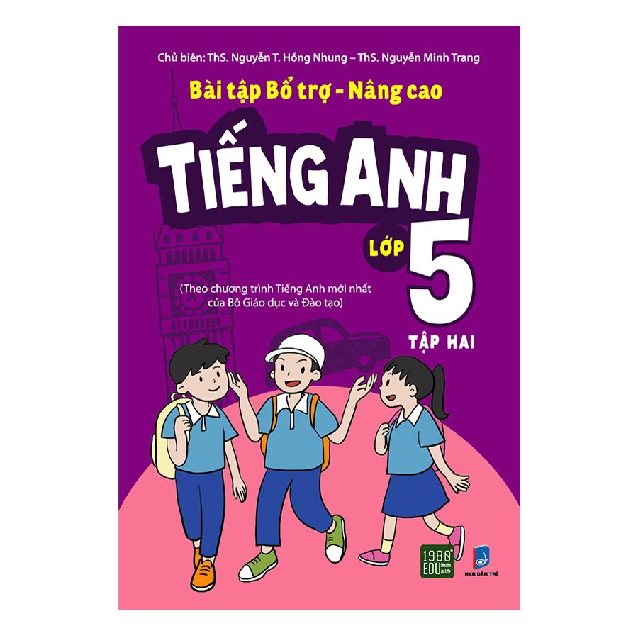 Bộ Sách Tiếng Anh Lớp 5 Tập 2