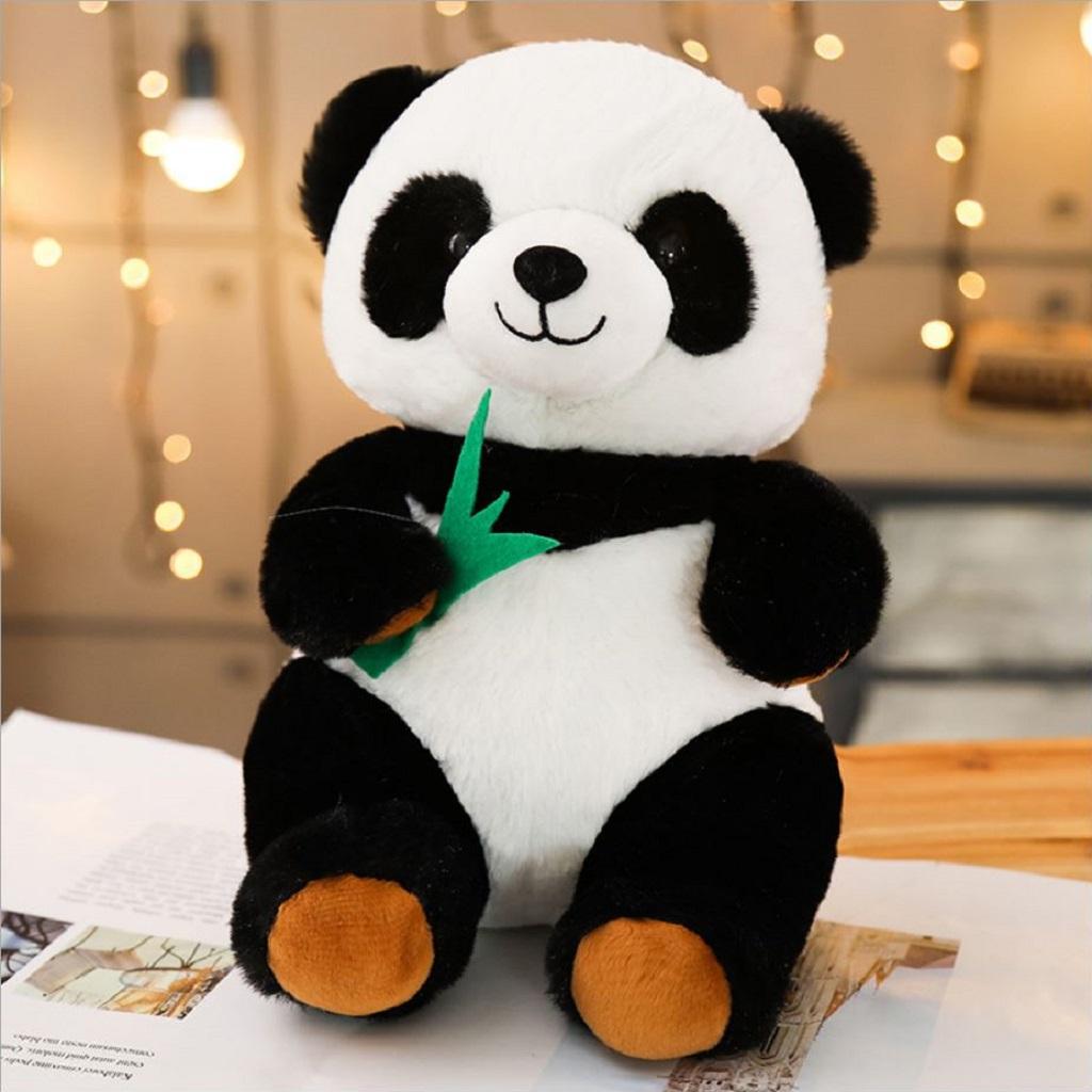 Gấu bông gấu trúc siêu dễ thương, đồ chơi gấu bông cao cấp, thú bông sang trọng