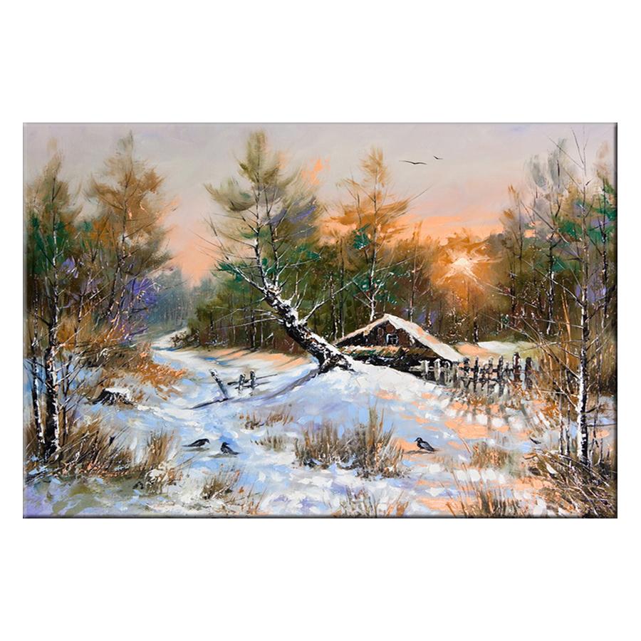 Tranh Canvas Thế Giới Tranh Đẹp Scenery-009