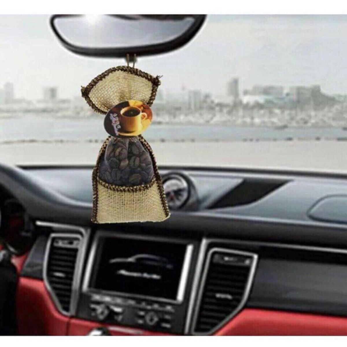 Túi thơm Khử mùi xe hơi Hiệu quả hương Cà Phê nguyên chất