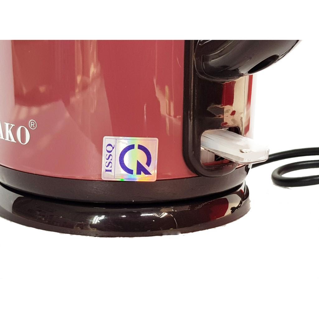 Ấm đun siêu tốc 2 lớp Inox 304 Osako OSA-200 2 lit - Hàng chính hãng