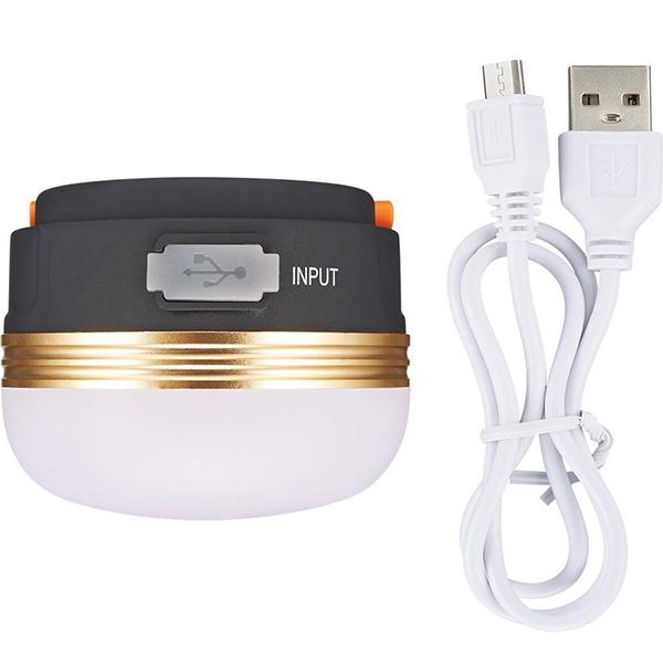 Đèn LED treo móc lều dã ngoại sạc USB chống thấm nước với 3 chế độ đèn GL8213
