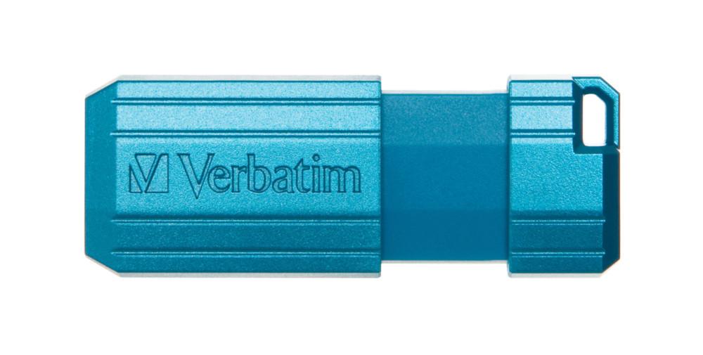USB VERBATIM STORE'N'GO PINSTRIPE USB DRIVE 16GB  2.0 - Hàng chính hãng (xanh dương)