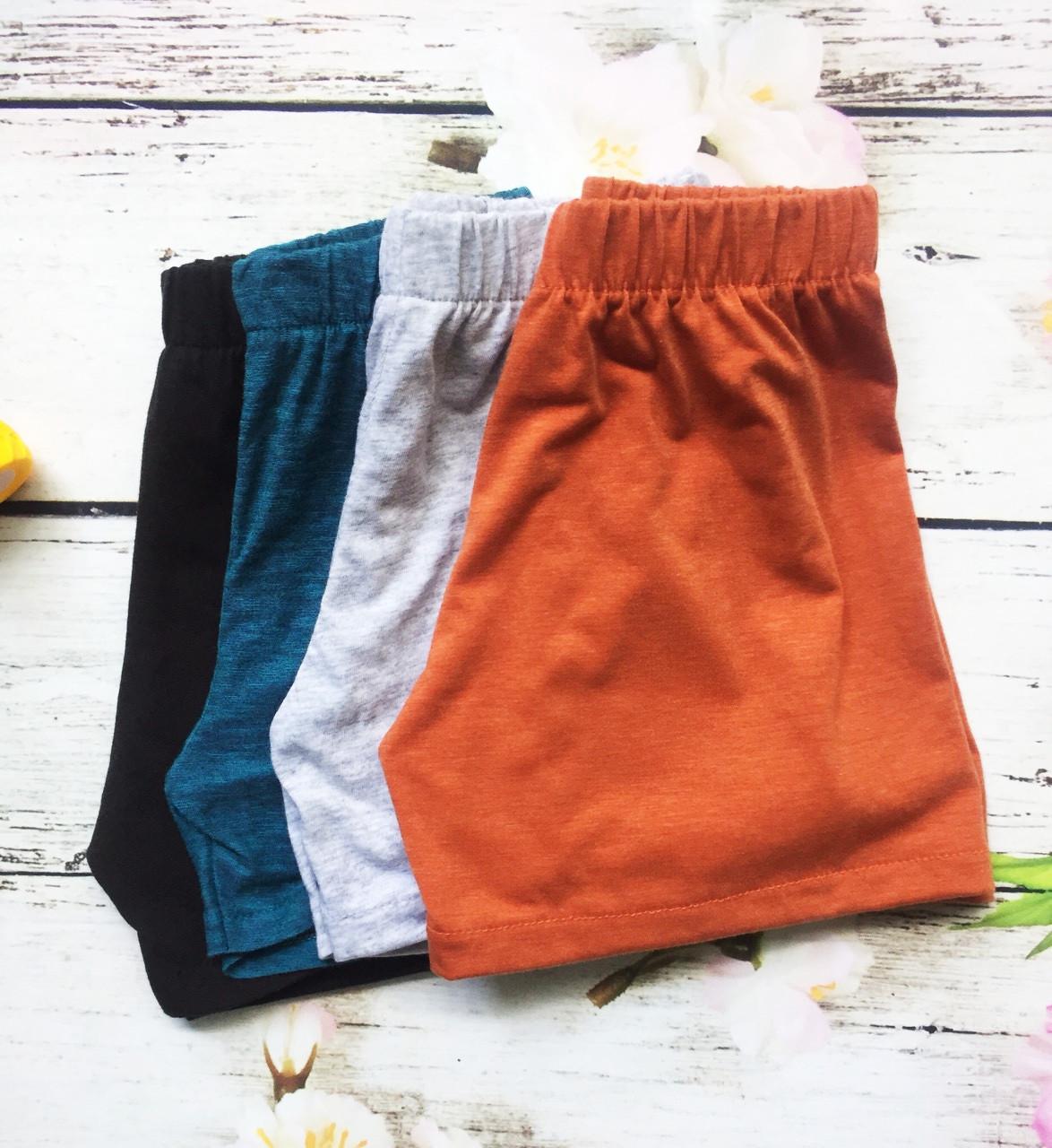 Combo 10 quần bé trai từ 3-32kg - Cotton thiên nhiên. Giao màu ngẫu nhiên