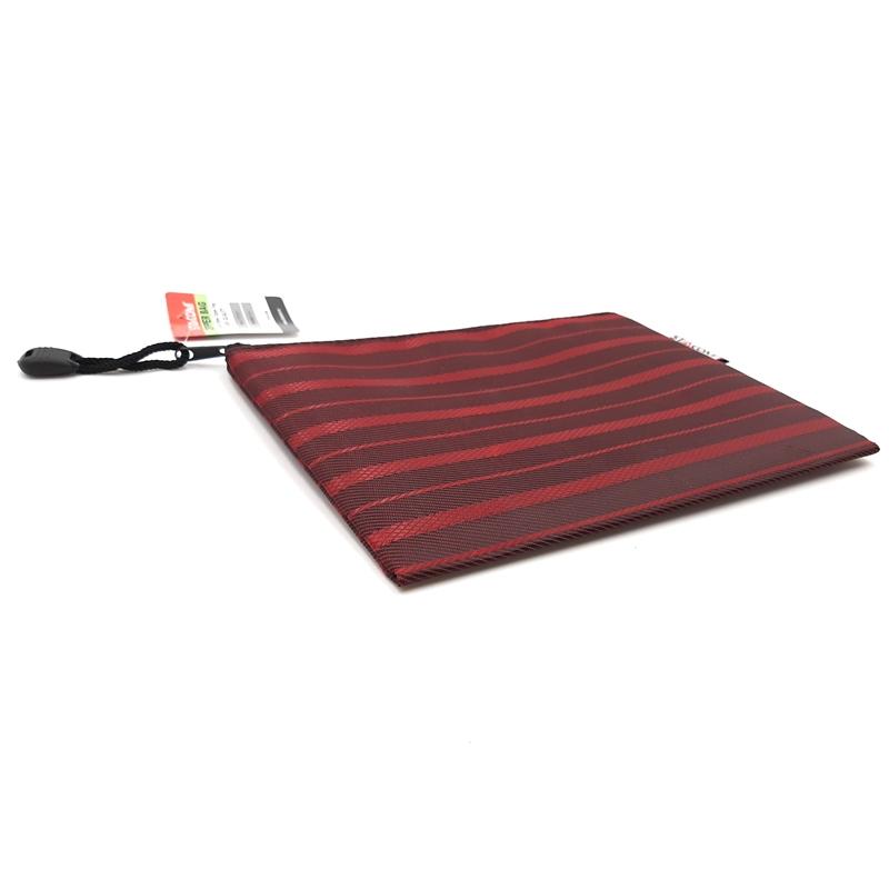 Bộ 2 Túi Đựng Có Khóa Kéo, Chống Nước (Zipper Bag) Stacom B6 - 19x14 cm - Màu Đỏ