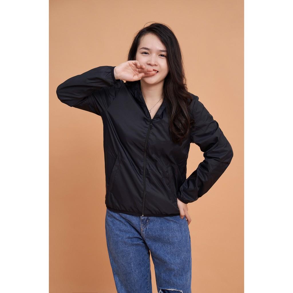 Áo khoác gió nữ 2 lớp chống nước