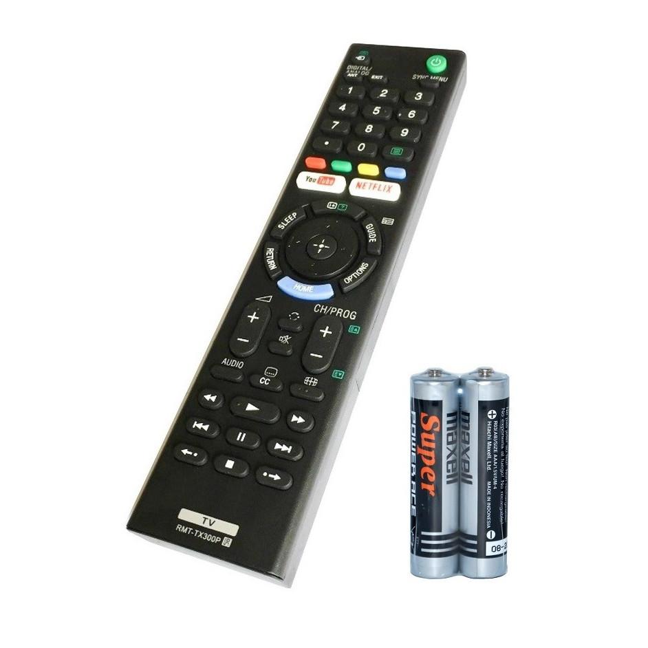 Remote Điều Khiển Dành Cho Smart TV, Internet TV, TV Thông Minh SONY RMT-TX300P