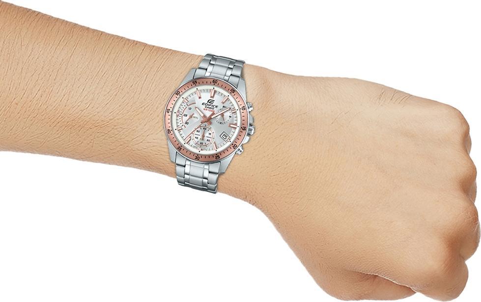 Đồng hồ nam dây kim loại Casio EDIFICE EFV-540D-7BVUDF
