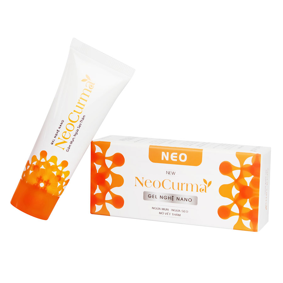 Combo 3 Gel Hỗ Trợ Giảm hỗ trợ điều trị Mụn Liền Sẹo Tinh Chất Nghệ Nano NeoCurma (20g / Tuýp)